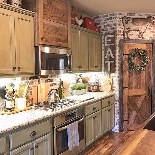"""4,415 To se mi líbí, 54 komentářů – DECORSTEALS.COM (@decorsteals) na Instagramu: """"Best kitchen on IG right here  @rusticfarmhome is one of our favs and we want everyone to know it…"""""""