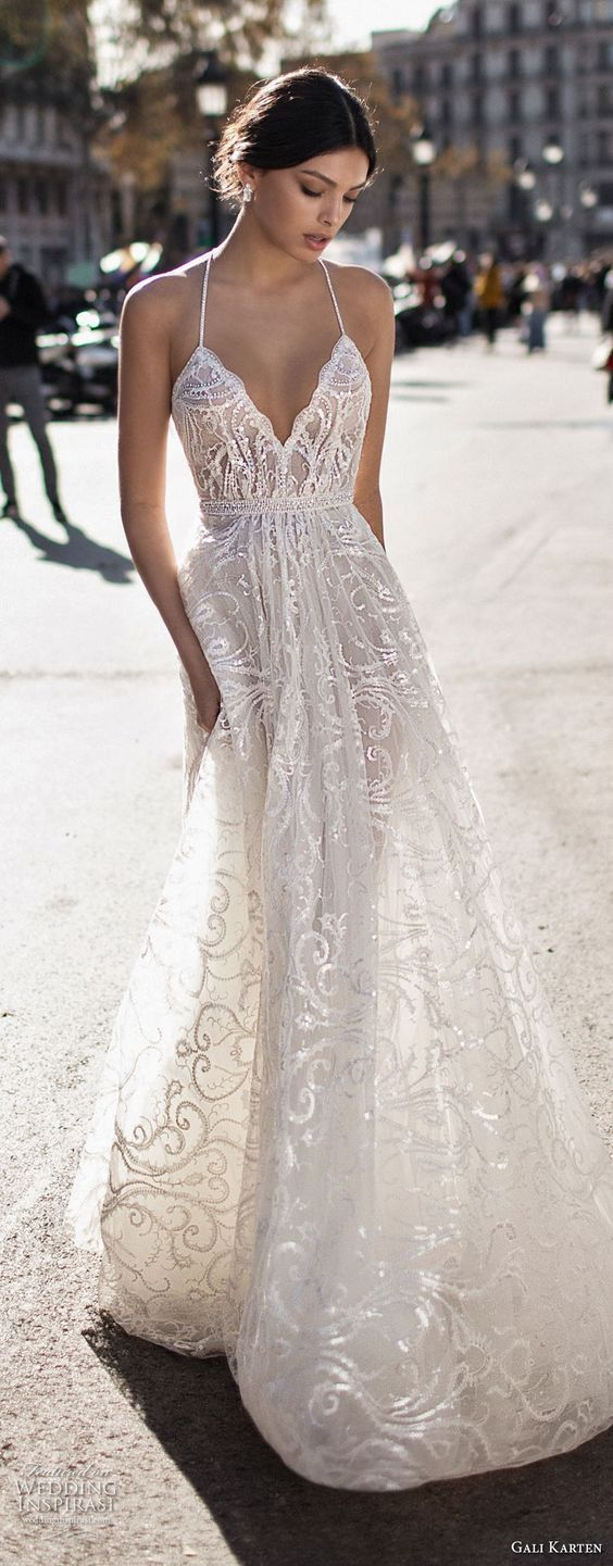 blanc denver is swooning over these wedding dresses! #blancdenver #weddingdress #wedding #laceweddingdresses