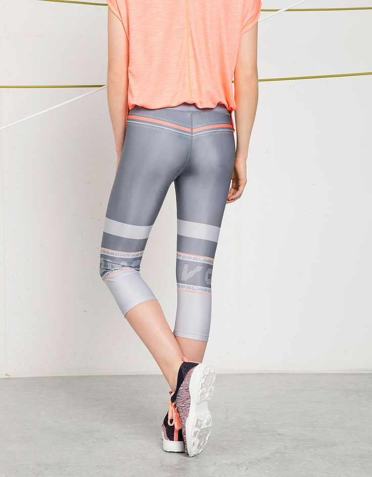 Leggins Bershka Sport texto - Sport Start Moving - Bershka España