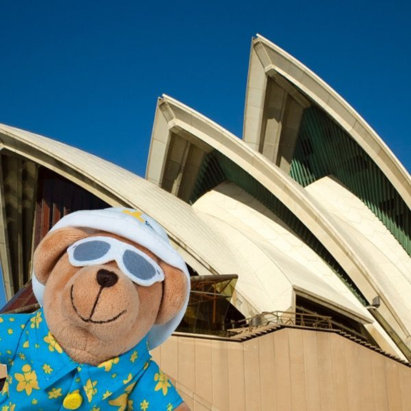 The latest stop on Holiday Dougal's great Australian adventure was the Sydney Opera House! Stay tuned as next week Dougal will visit the Northern Territory! To buy him today, visit: www.daffodilday.com.au/get-involved/buy-merchandise/