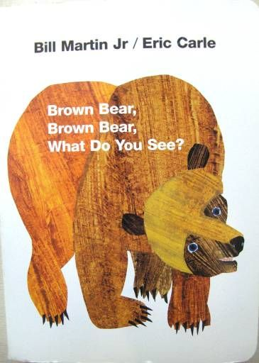 Brown Bear- draw animals, handprint animals, What does X animal do? Can you do that?