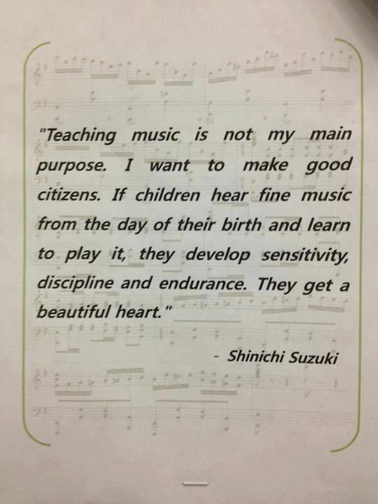 (P) Why We Teach Music - Posted on October 15, 2012 by Jamie Sterling