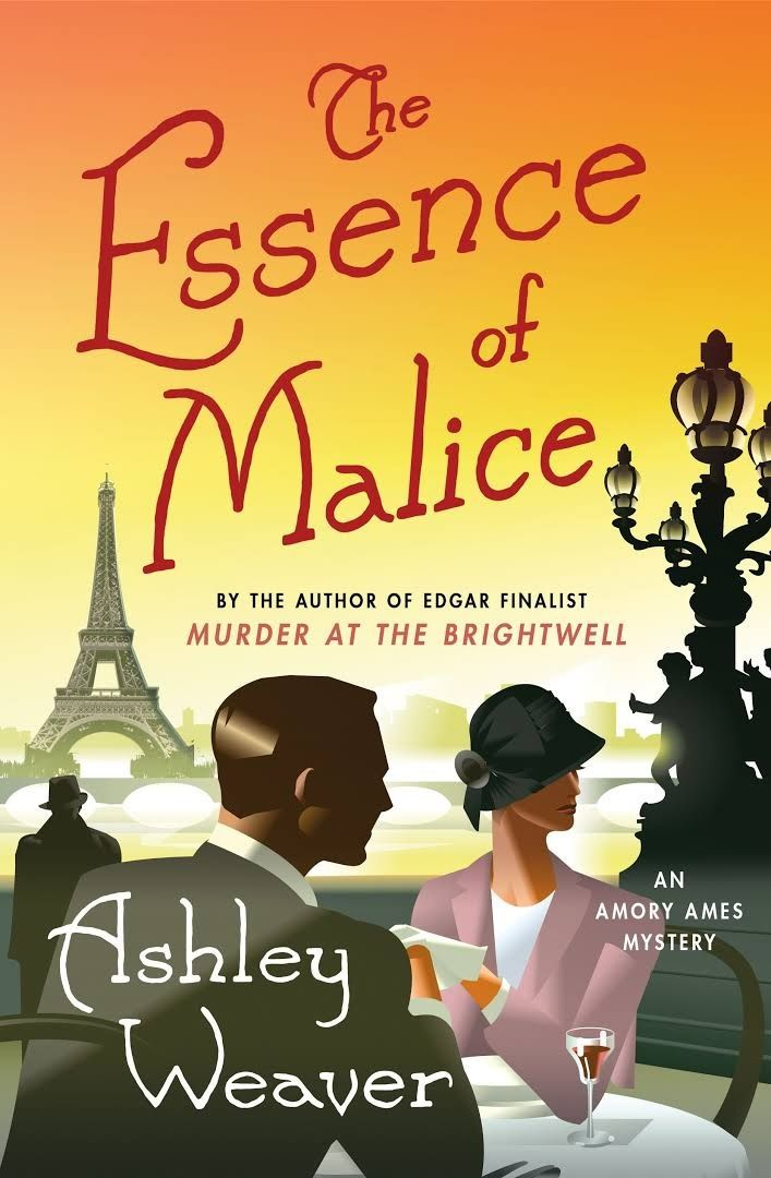 What are the books that Ashley Weaver, author of The Essence of Malice, would never part with?