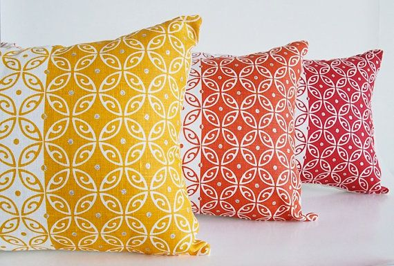 Cushion Cover Moroccan hand screen printed by BillieTheKidDesign