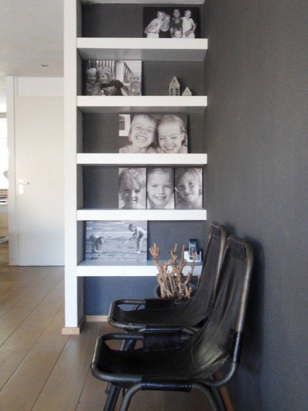 Een erg leuk idee voor de foto 39 s door saskia1975 a new home living room pinterest - Idee deco woonkamer foto ...