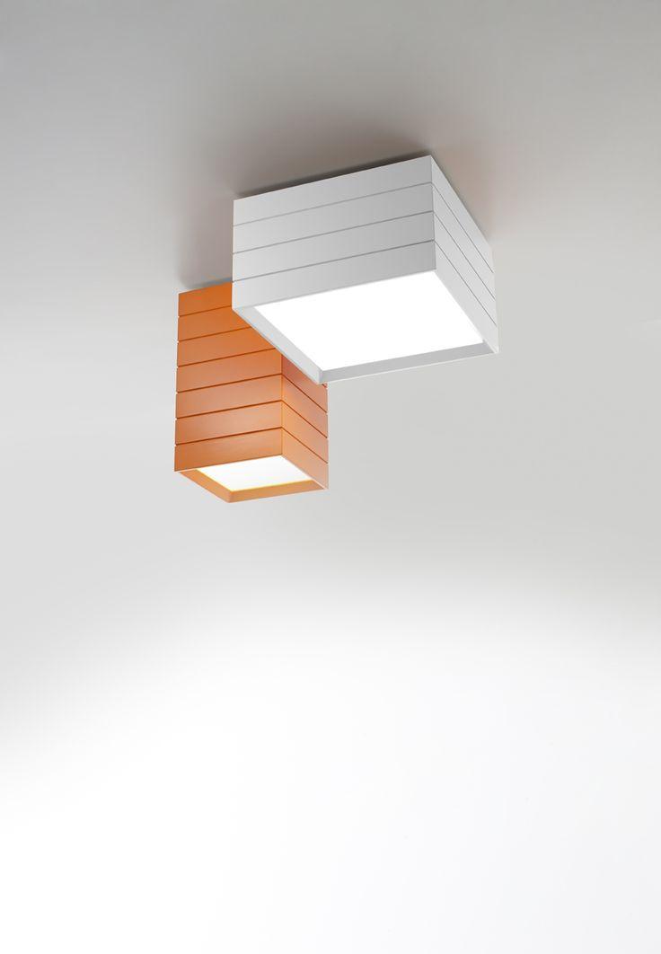 #Groupage ceilings, #design Ernesto Gismondi.