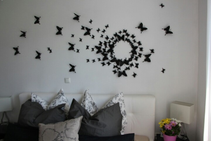 Wall Decor Diy Butterflies