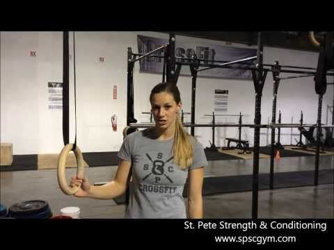 Ring Muscle Up Progression for Crossfit - YouTube