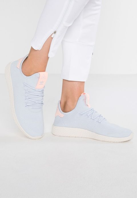 d4d9d343b3f11e adidas Originals PW TENNIS HU - Sneaker low - aero blue chalk white -  Zalando