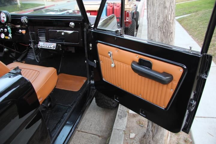 Rocky Roads - Custom Restored Broncos - pleated vinyl door panels