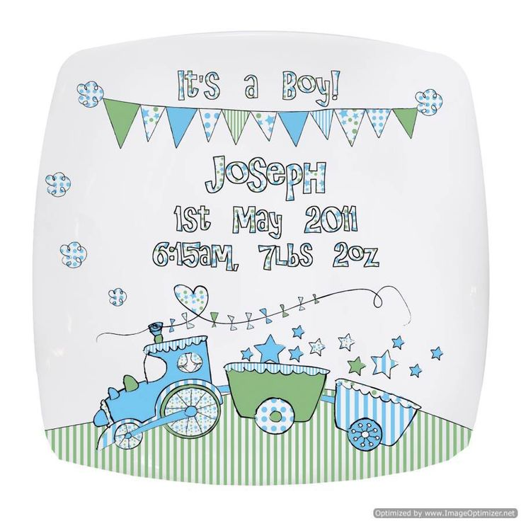 Personal Touch Gifts - Whimsical Train Plate, £19.99 (http://personaltouchgifts.co.uk/whimsical-train-plate/)