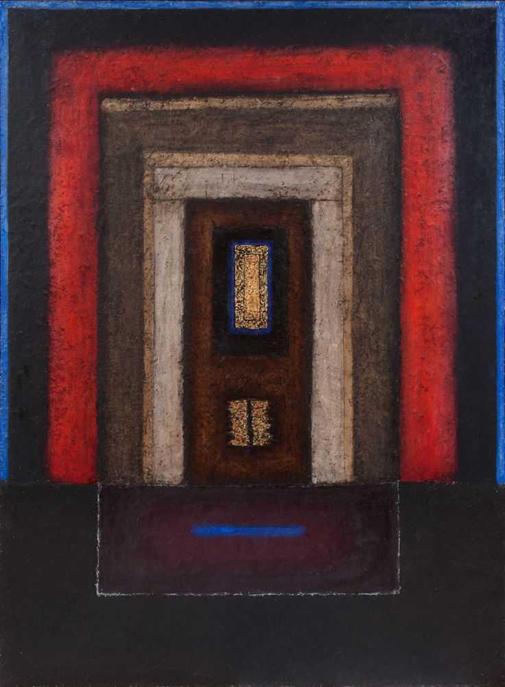 Eric Bowen Medium: Oil and encaustic on canvas Year: 1991 Size: 68 x 50 in.