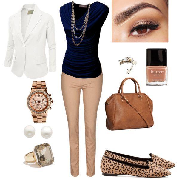 73 best Ropa mujer ejecutiva o para la oficina images on Pinterest   Work outfits Feminine ...