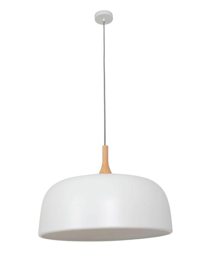 Sunraysia 520mm Pendant in Matt White/Ash