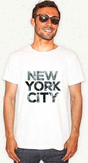 "Camiseta ""New York City"" // Garanta a sua: http://bit.ly/1ARxf8b #nyc #newyork #travel #tshirt #camiseta #fashion #hotmen #man"
