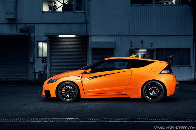Honda CR-Z Mugen RR. One of only 3 new Hondas I like.