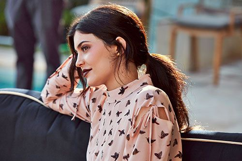 Kylie Jenner rolled up to her first Allure cover shoot—at a $20 million private home in Malibu—in her new Rolls-Royce, wearing Givenchy and Balenciaga. Because, you know, she's Kylie Jenner....
