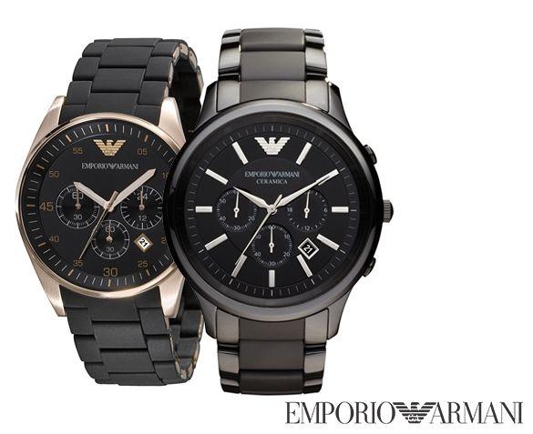 Vanaf €199,95 ipv €369 – Emporio Armani Herenhorloge; Voor iedereen die houdt van kwaliteit en luxe!