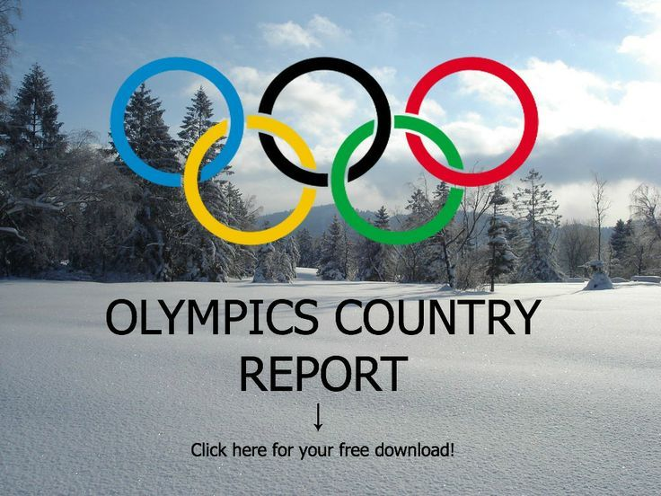 Winter Olympics Fun Book to work with your children
