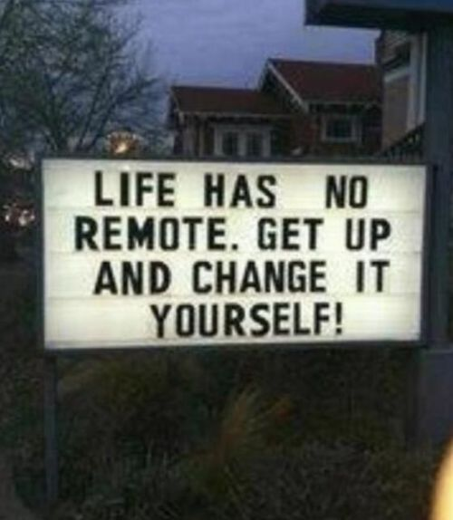 Change it yourself!