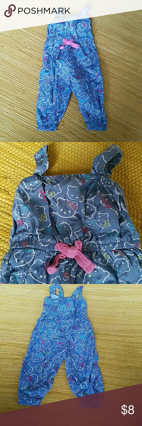 f872b9987ef Hello Kitty Romper Worn once by my daughter who HATED being in a Romper.  This
