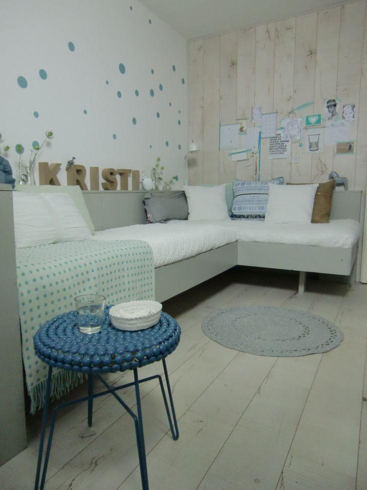 17 best idee n over tiener slaapkamer kleuren op pinterest koraal wanden slaapkamer - Tiener slaapkamer kleur ...