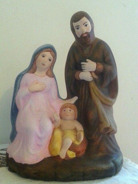 Sagrada Familia en cerámica