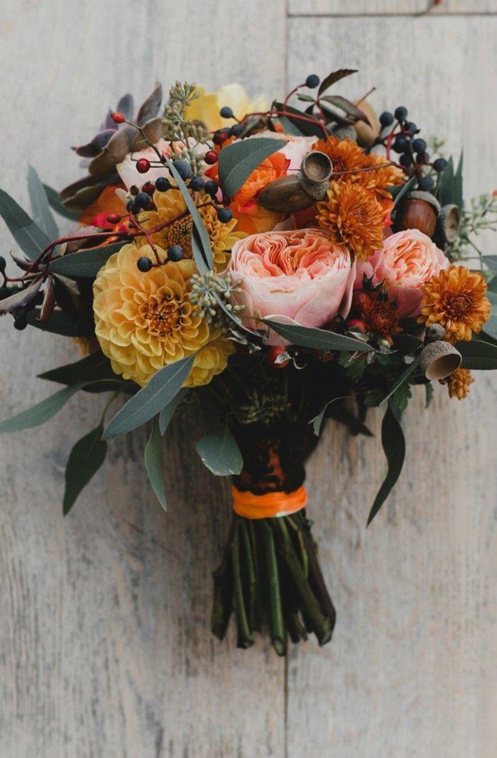 21 Hochzeitssträuße im Herbst zum Verlieben – …
