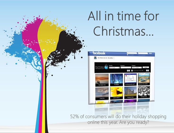 Christmas is coming - are you ready? Use our new Facebook Page galleries to sell to your fans!