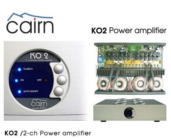 cairn audio Ko2 100w classe A for first 10 watts
