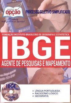 Processo Seletivo Simplificado IBGE 2016  AGENTE DE PESQUISAS E MAPEAMENTO