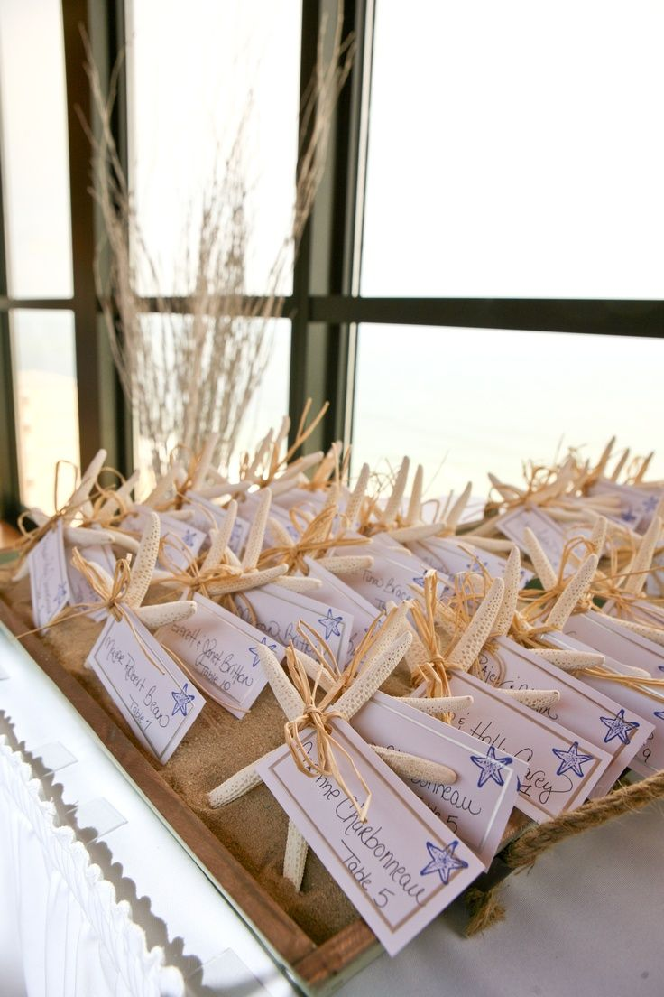 49 Best Beach Wedding Place Cards Images On Pinterest Beach
