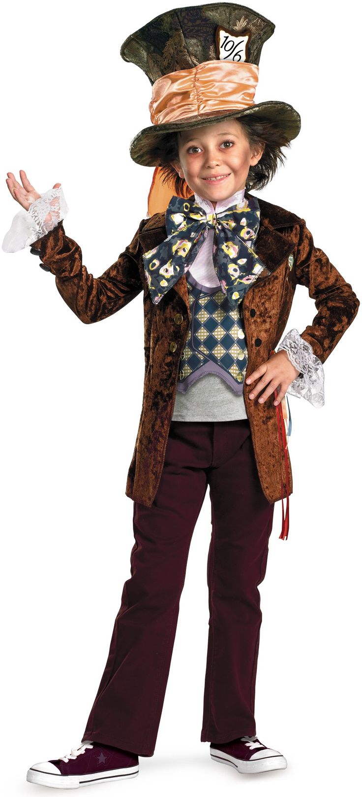 Alice in Wonderland Movie - Mad Hatter Child Costume - Love this for the little boy that doesn't want to dress as a superhero! #Halloween