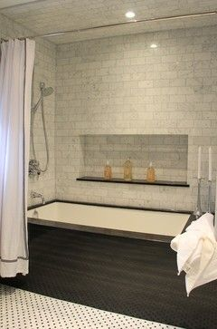 Tub Tile Shelf Design Ideas, Pictures, Remodel, and Decor - page 2