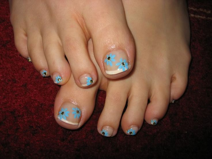 Summer Toe Nail Designs | Great DIY toe nail designs ideas for any occasion