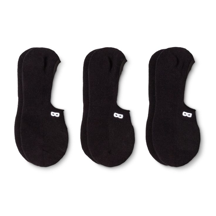 Women's Pair of Thieves Casual Liner Socks 3 Pk - Black 4-10