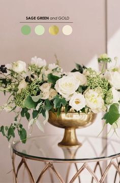 15 Wedding Color Palettes to Inspire Your Style - www.theperfectpal... - The Ultimate Wedding Color Blog