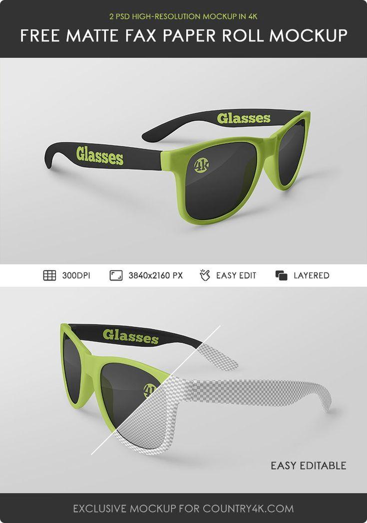 2 Free Glasses Mockups Counrty4k Free Glasses Mockup Glasses