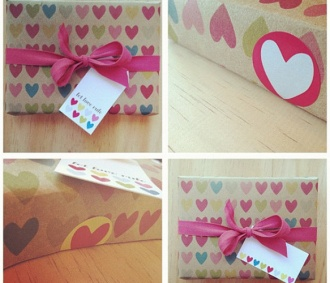 Full of Hearts Gift Wrap Kit