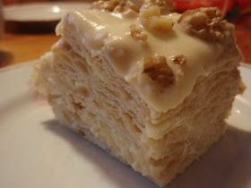 Food Good to Eat: The Emperor of Cakes - Napoleon (Mille-Feuille) cake recipe