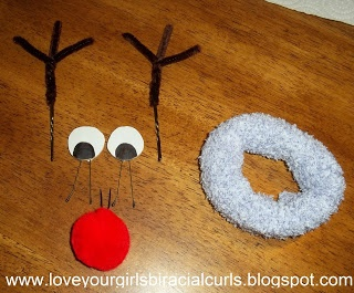 how to make a reindeer sock bun - so cute to see all the dancers wearing to class!
