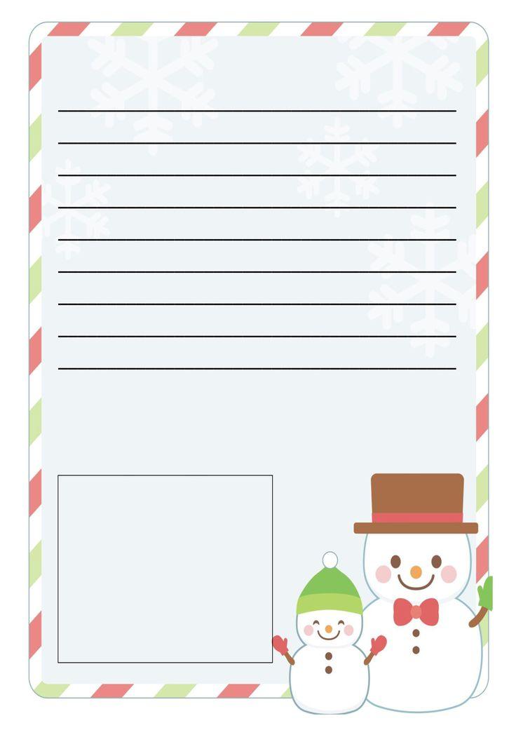 Lettera a Babbo Natale versione 9 da stampare gratis