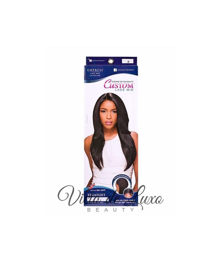 Sensationnel Lace Front Edge Empress Custom Wig Straight #1