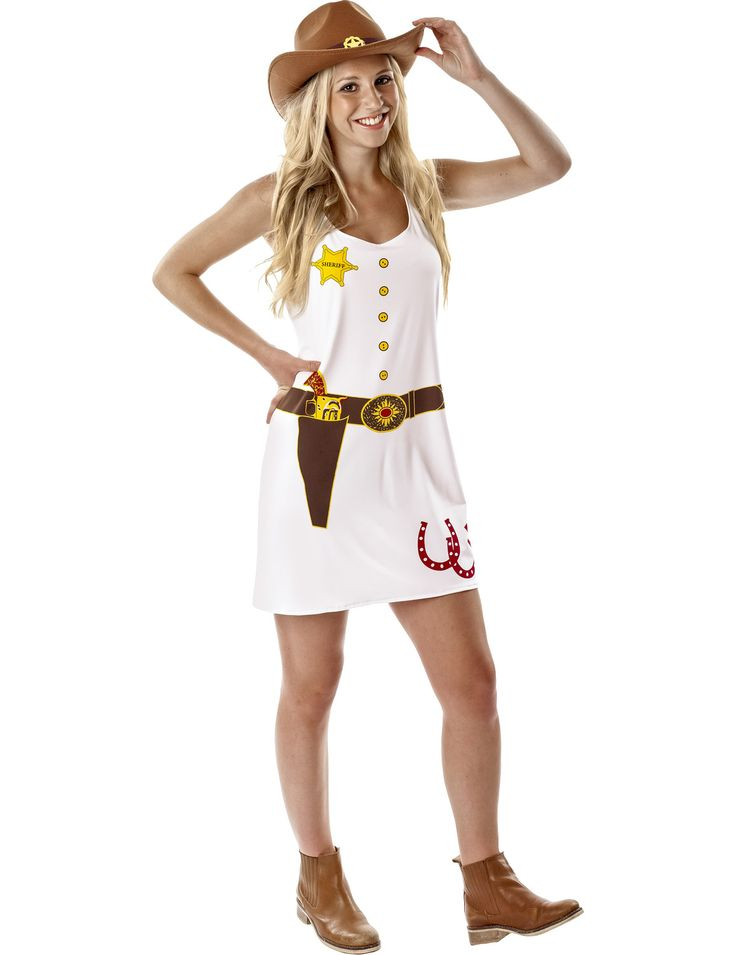 Women's Cowgirl Fancy Dress Costume | Jokers Masquerade