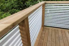 Bildresultat för altan staket liggande