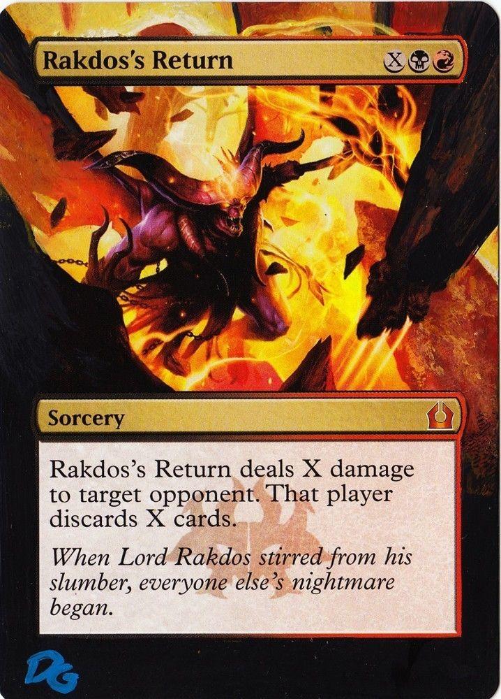 Altered Rakdos Return by DG www.squidoo.com/magic-the ...