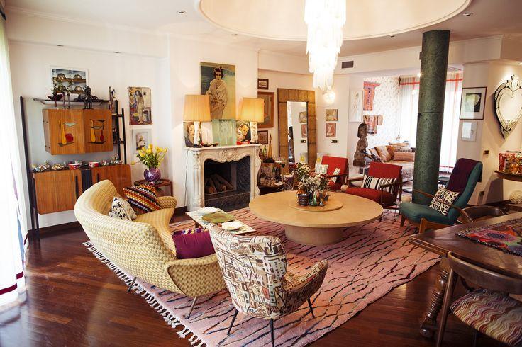 Margherita Maccapani Missoni – Missoni Brand Ambassador at home in Milan « the selby