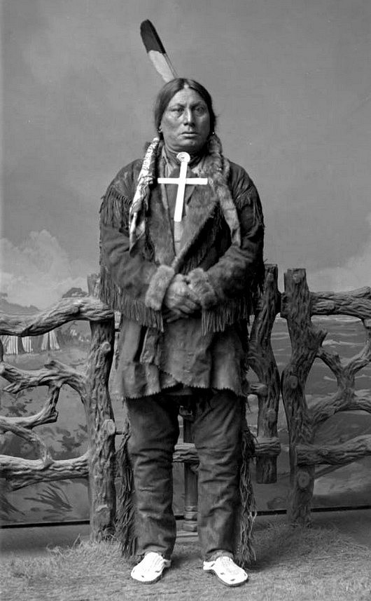 Hunkpapa Lakota, Chief Gall His First Wifes Life Ended -9404