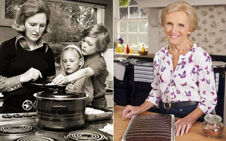 Watch Mary Berry's journey from oven sales assistant to prime time judge on   The Great British Bake Off in one minute... ♥♥ ....