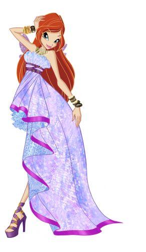 Блум Винкс бальные платья принцесс 6 сезон